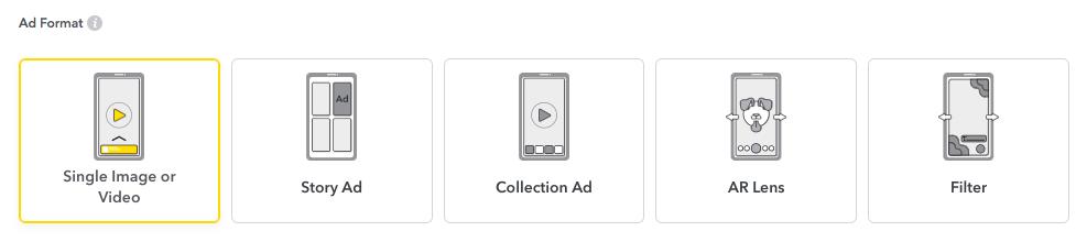 Annonsera på Snapchat Annonsformat