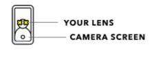 Annonsera på Snapchat , Snap lens