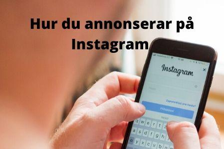 Annonsera på Instagram
