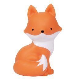 A Little Lovely Company nachtlamp vos 15,3 cm oranje