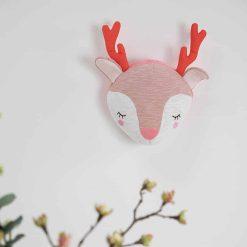 Tiamo wanddecoratie Dreamy Deer 30 cm