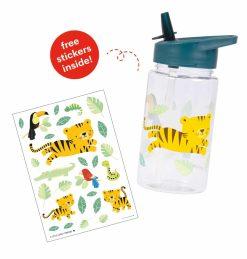 A Little Lovely Company drinkfles: Jungle tijger