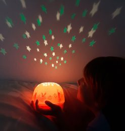 A Little Lovely Company Projector lamp: Konijntje