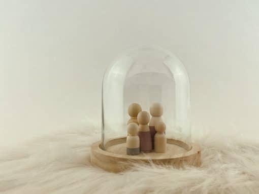 Kleine stolp met houten poppetjes 2 (3)