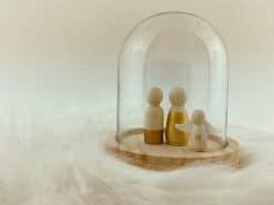 Kleine stolp voor houten poppetjes (1)