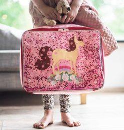 A Little Lovely Company Koffer: Glitter - paard