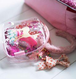 A Little Lovely Company Toilettasje: Glitter - paard