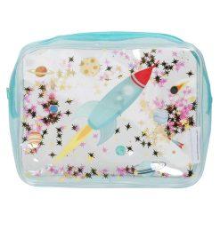 A Little Lovely Company Toilettasje: Glitter - ruimte