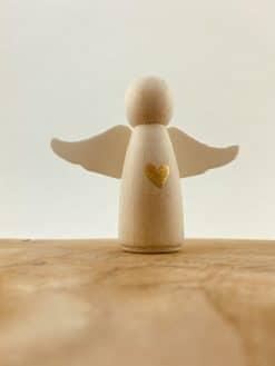 Houten poppetjes - Engel