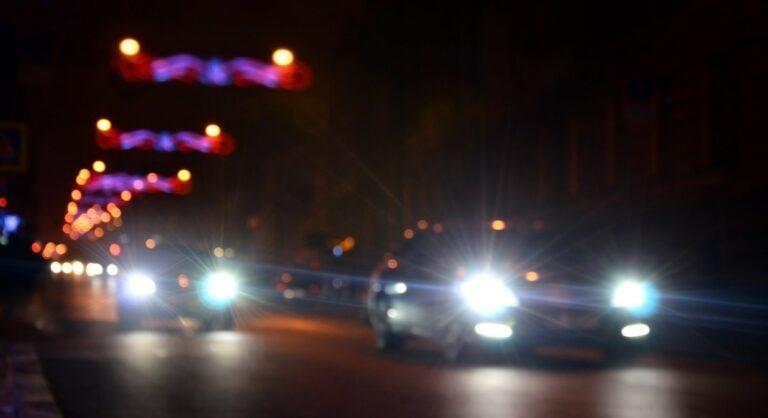 Nights lights of the big city