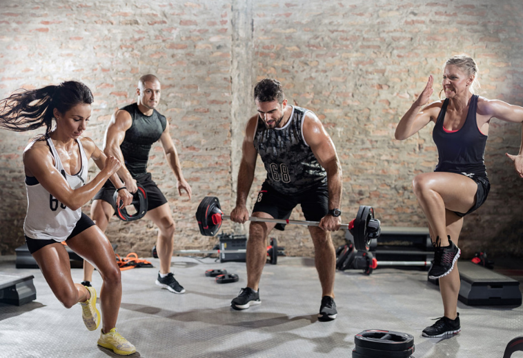 group lesson circuit training
