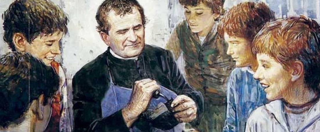 Don Bosco tussen de jongeren