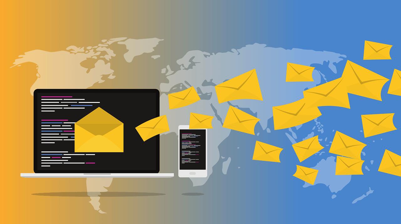 berichten e-mail