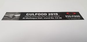 Gulfood fair 2019