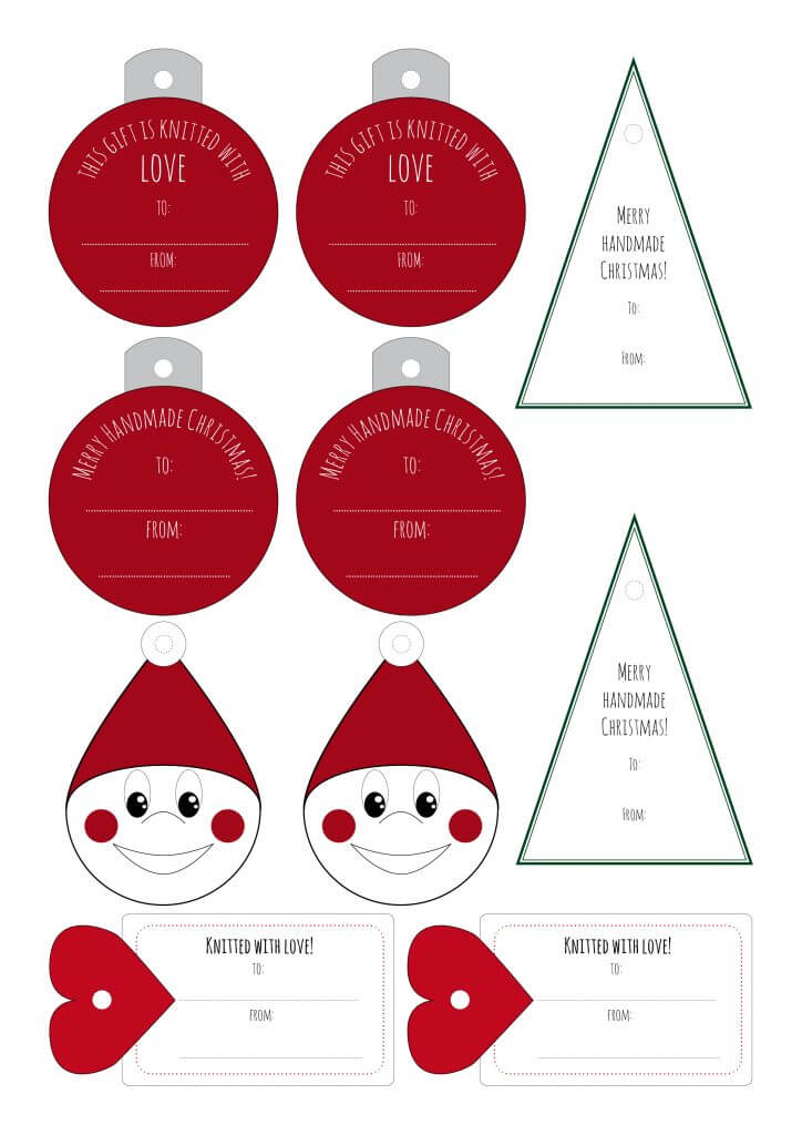 Don't Be Such a Square | Christmas tags for wrapping your handmade gifts! #giftwrapping #tags #christmas #xmas
