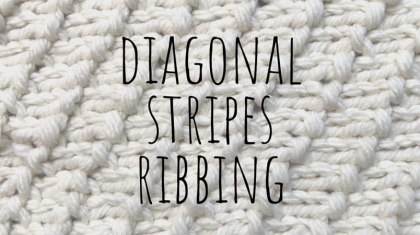 Diagonal-stripes-ribbing-top