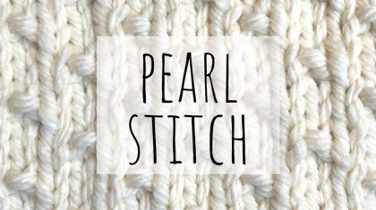 Pearl-stitch-top