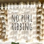 No purl rib