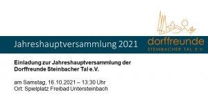 Read more about the article Einladung zur Jahreshauptversammlung
