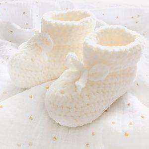 chaussons crochet