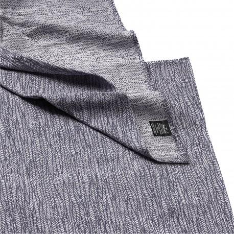 écharpe coton bio gris