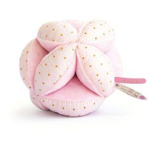 balle montessori rose