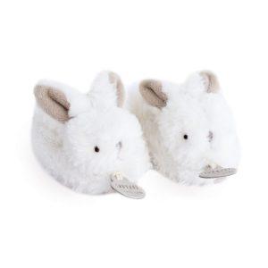 chaussons lapin bonbon