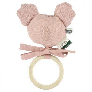 hochet-koala-les-reves-d-anais-bliss-rose