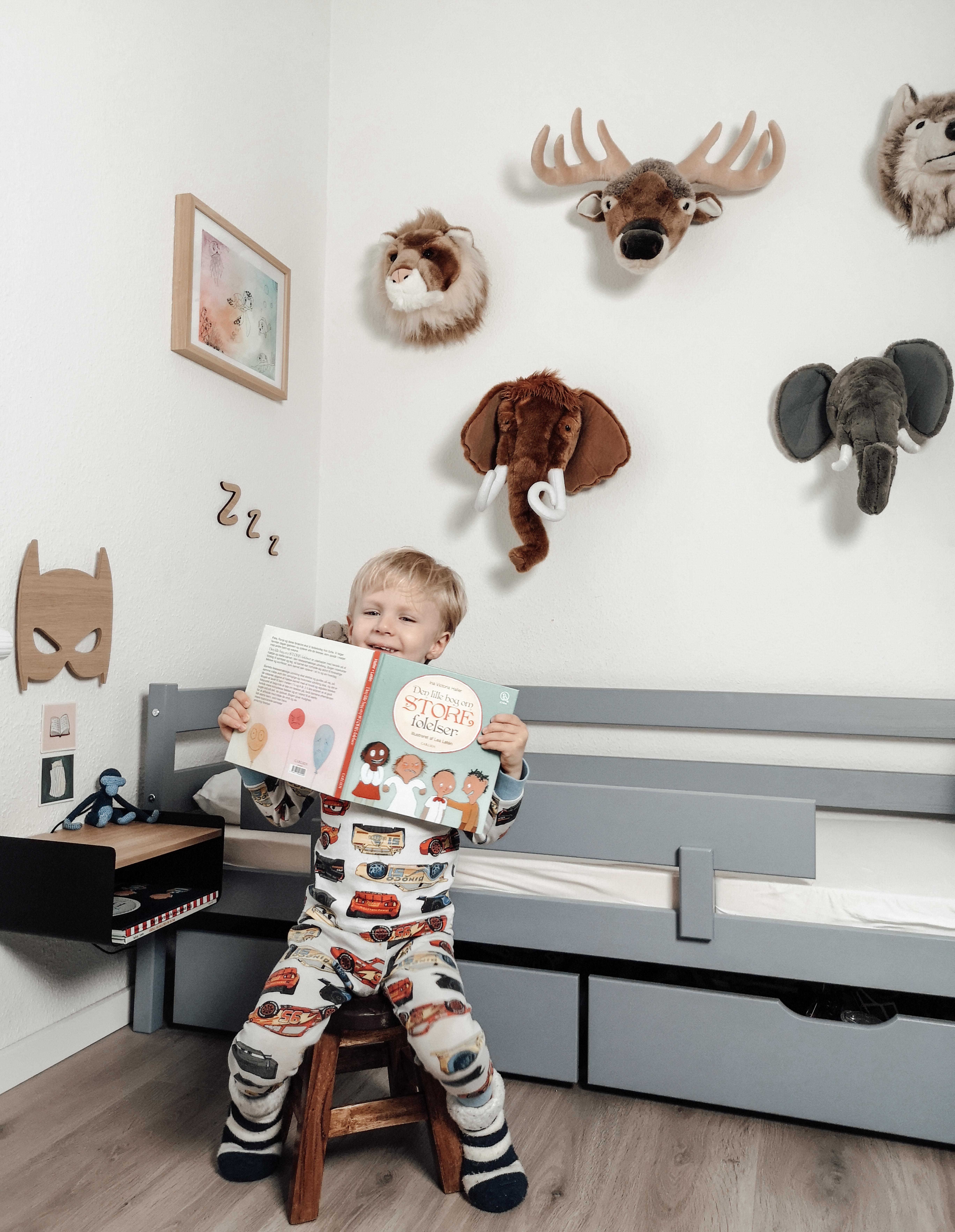 færre konflikter med dit barn, også når man læser