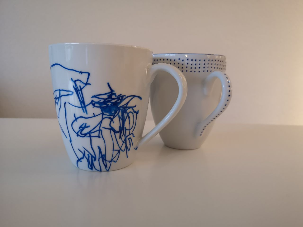 kreativ hygge med porcelæns maling