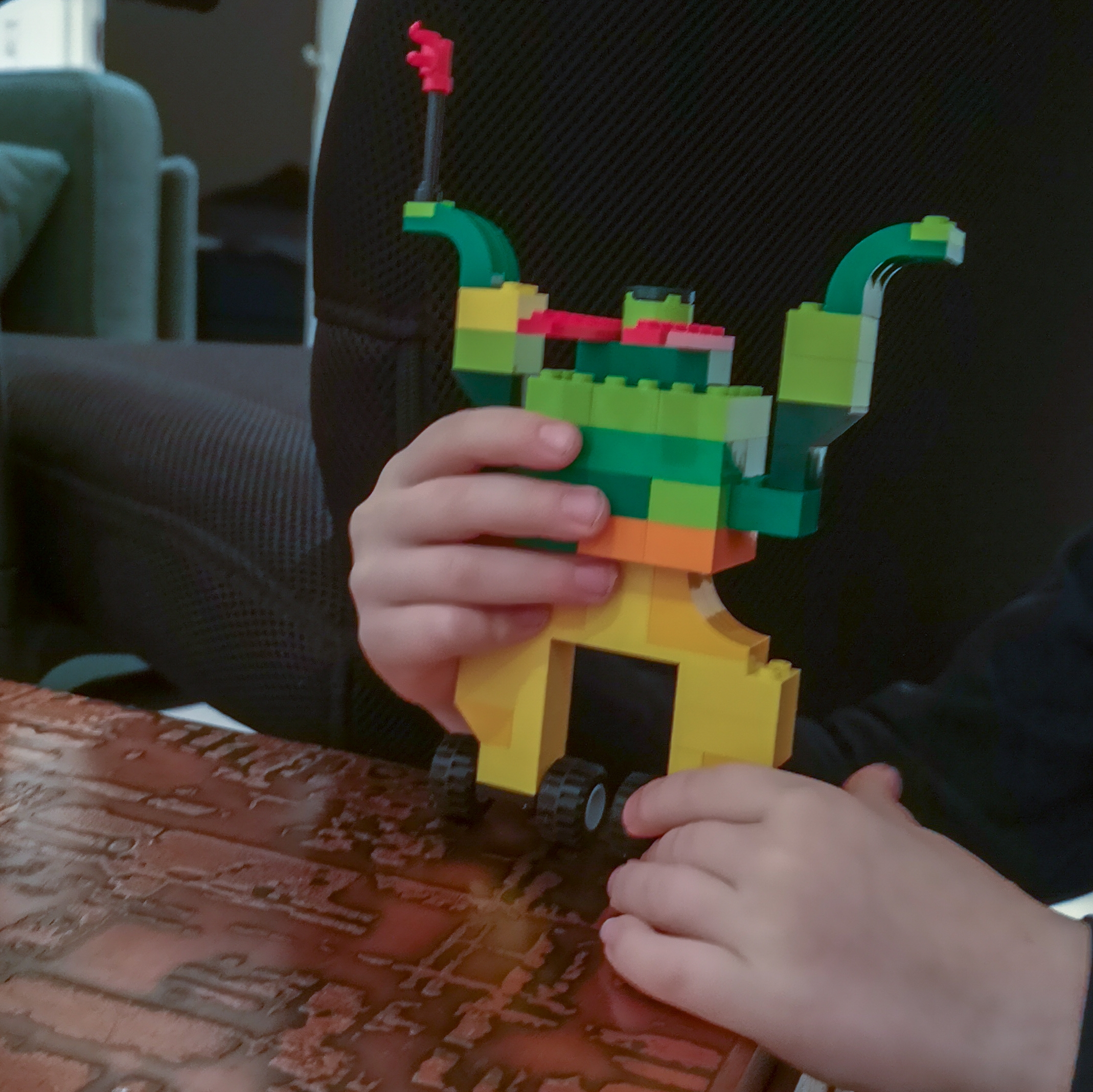 vær kreativ med lego