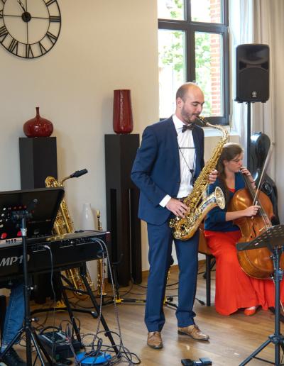 Trio Saxofoon, Cello en Piano