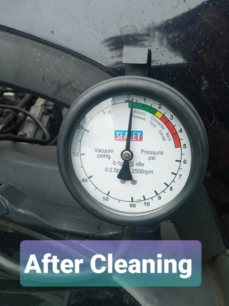After dpf clean pic in Birmingham