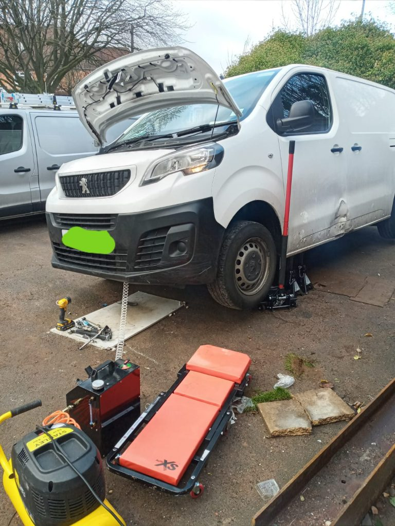 Van dpf cleaning in Coventry