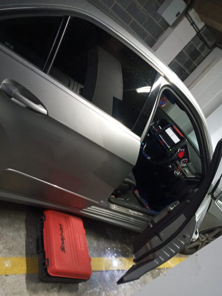 BMW CAR Mobile DPF cleaning process in Birmingham