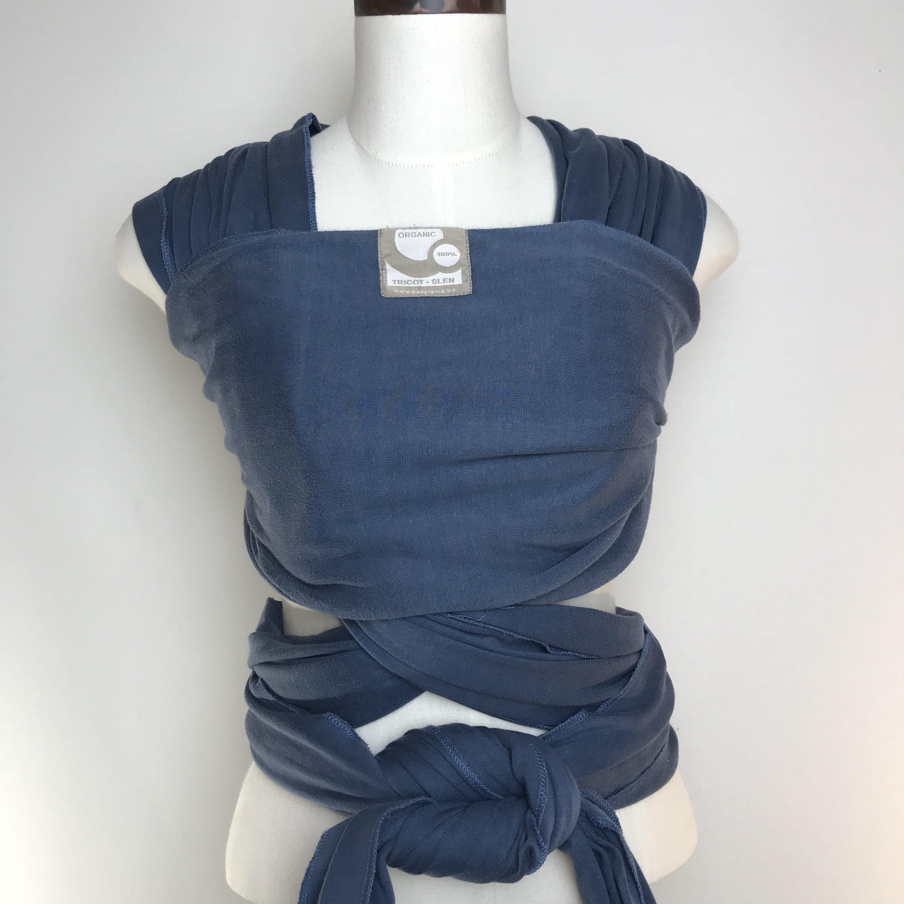 draagdoek te huur babylonia tricot slen jeans blue