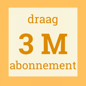 draagabonnement 3 maand