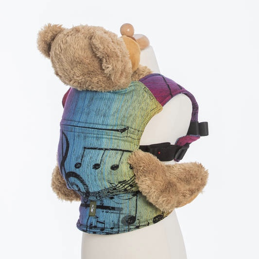 lennylamb doll carrier rainbow symphony dark