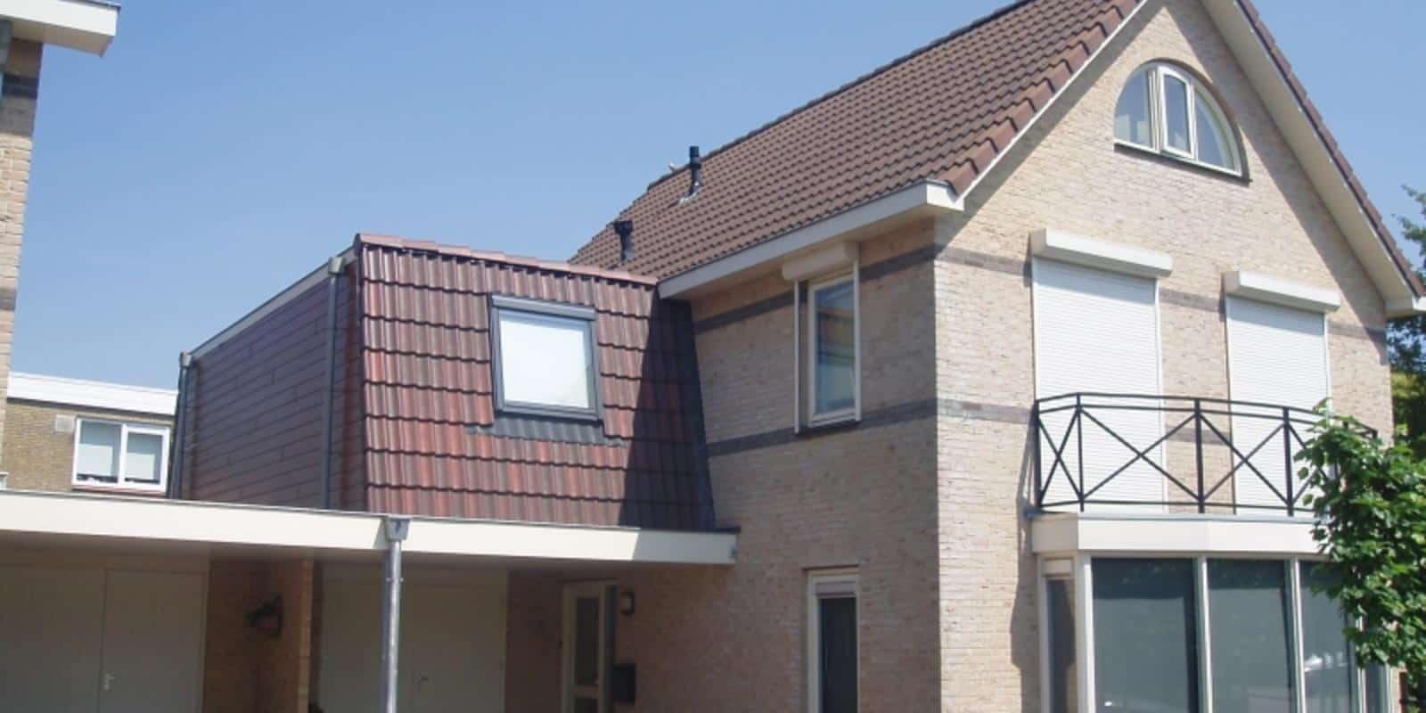 dakopbouw garage voorbeelden