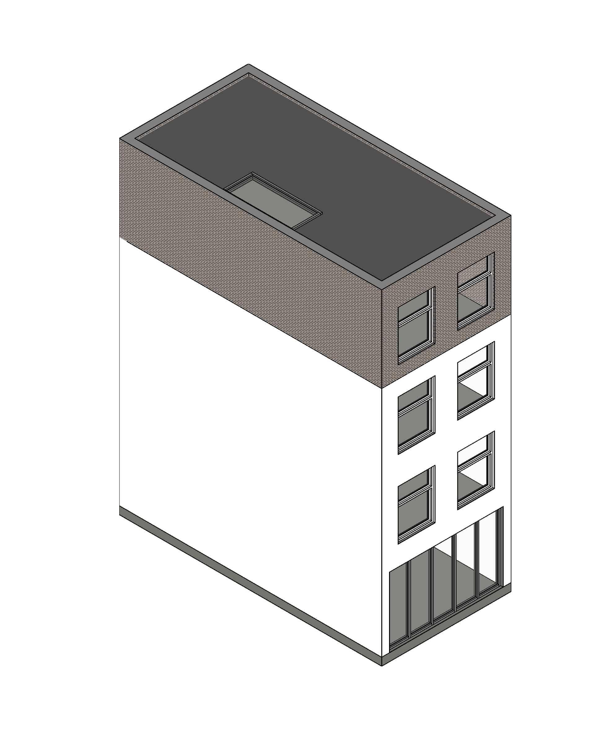 dakopbouw plat dak voorbeeld