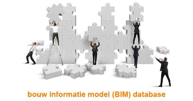 bim bouw informatie model waarde toevoegen in een database