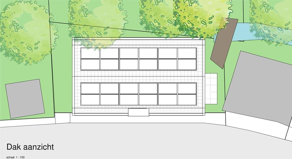 huis ontwerpen leiden dak zonnepanelen