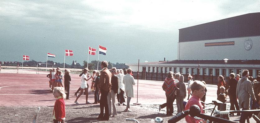 Indvielse af Hollænderhallen, som fik sit navn ved denne lejlighed. Foto: Birte Hjorth.