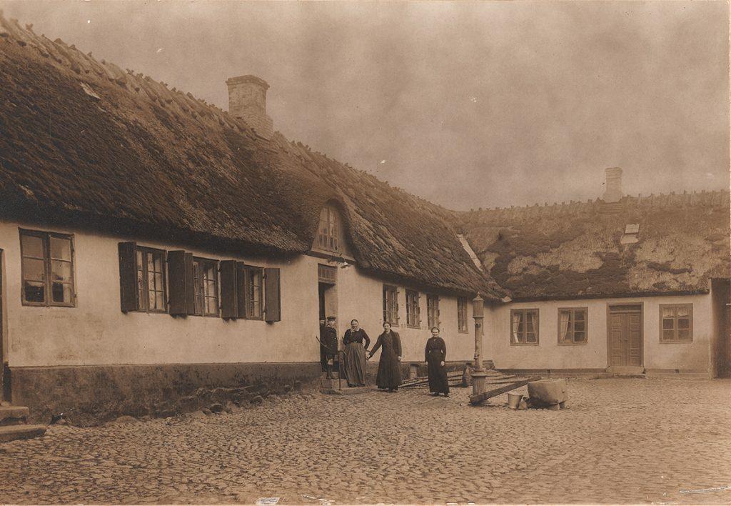Hollændergård omkring 1900