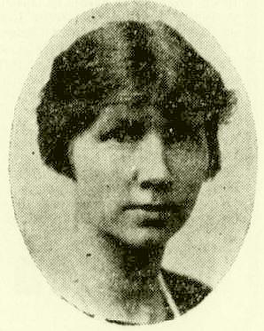 Oda Peters. Foto fra Nationaltidende 26.10.1925.