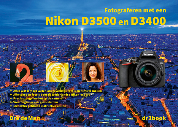 Fotograferen met een Nikon D3500 en D3400