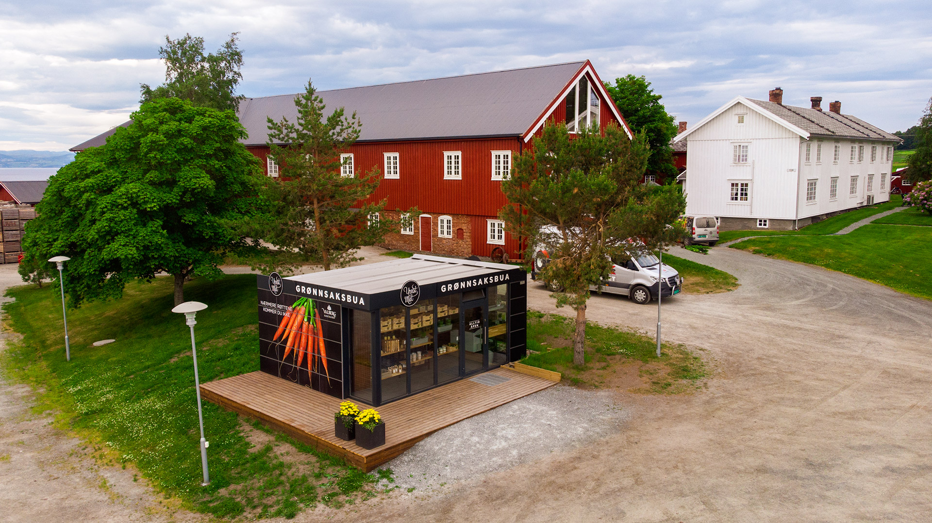 Grønnsaksbua - Valberg Slektsgård