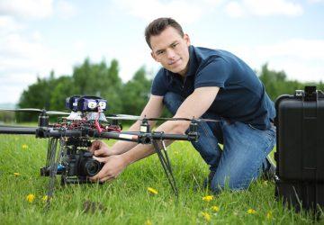 Stolt ejer af drone