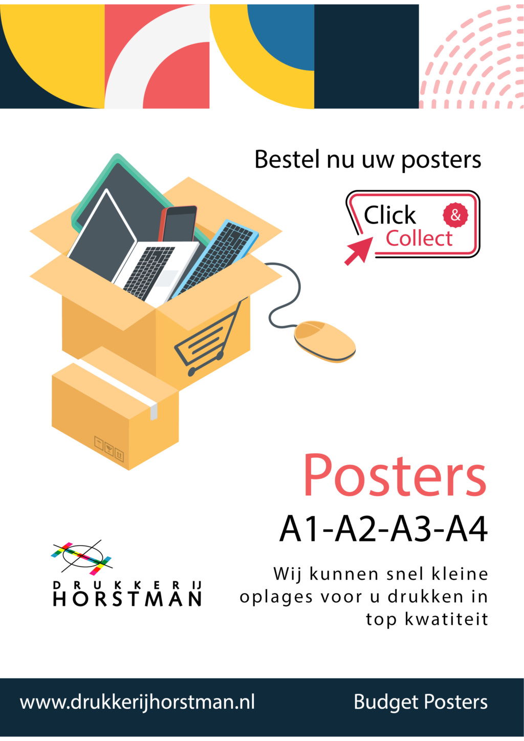 click en collect posters