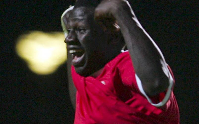 Bakary jubler over endnu en scoring
